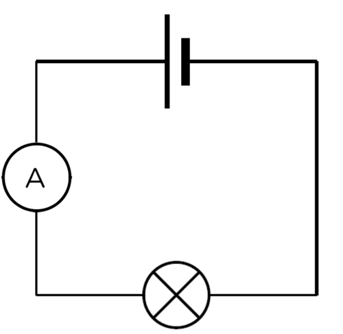 Circuit With A Ammeter