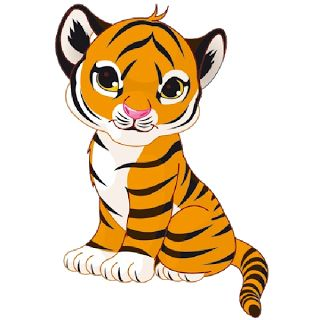 Amazoncom Cute Tiger Face Earrings Girls 925 Stering