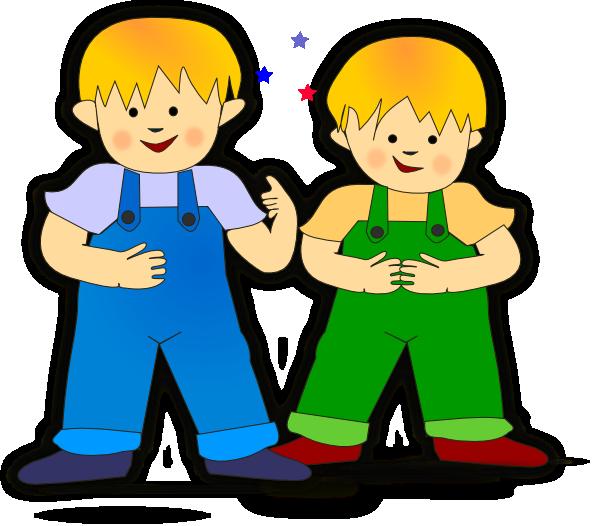 Cartoon 2 Kids Playing - ClipArt Best
