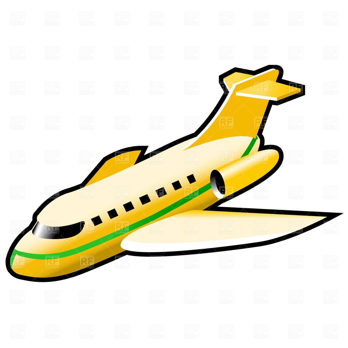 free airplane clipart vector - photo #20