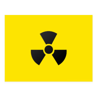 Nuclear Warning Postcards | Zazzle