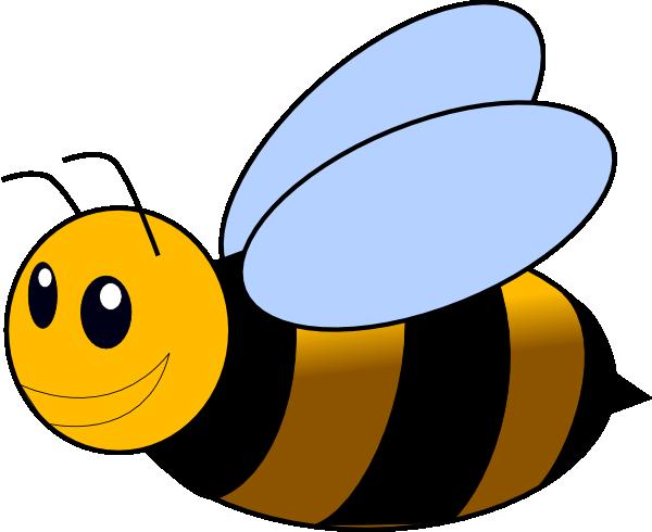 Lovely Rhinestone Bumble Bee Crystal Animal Ear Stud
