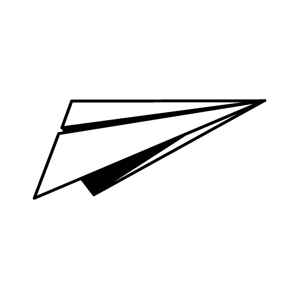 Paper Airplane Clip Art Clipart Best