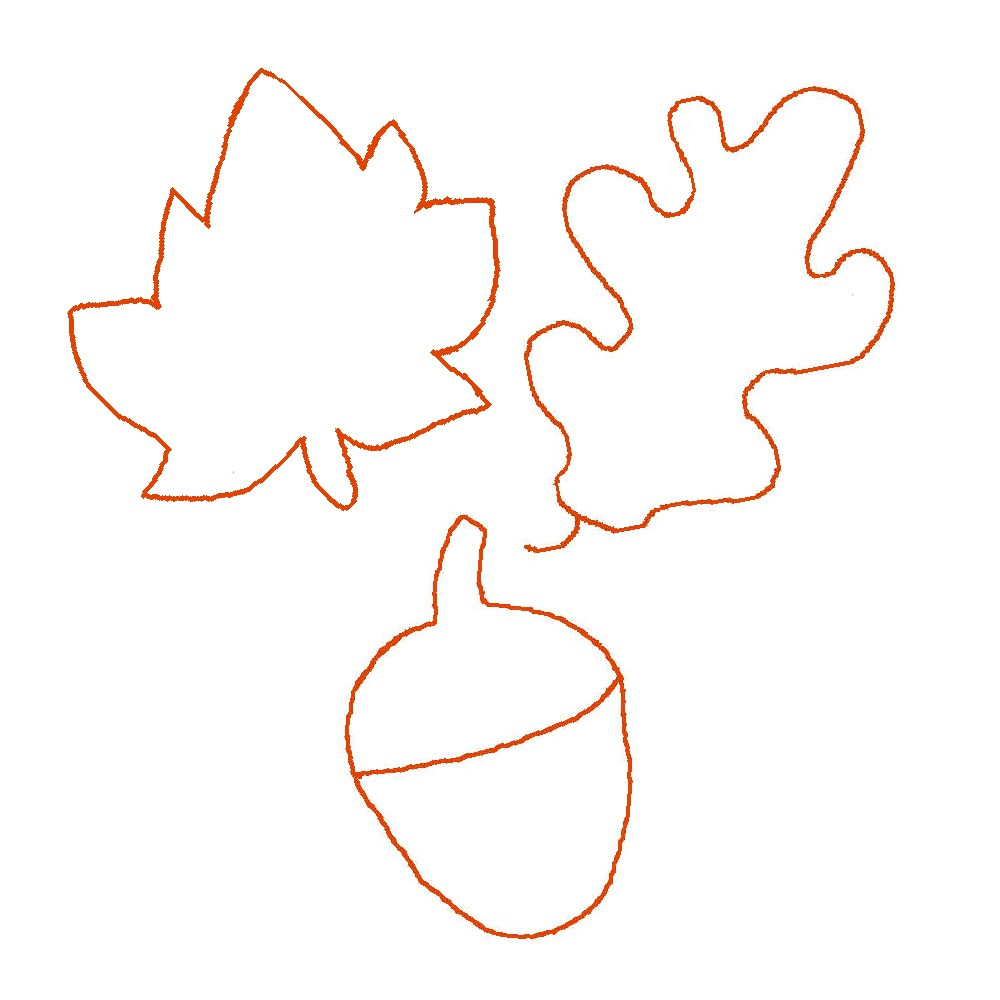 autumn leaf template free printables - autumn leaf stencil clipart best