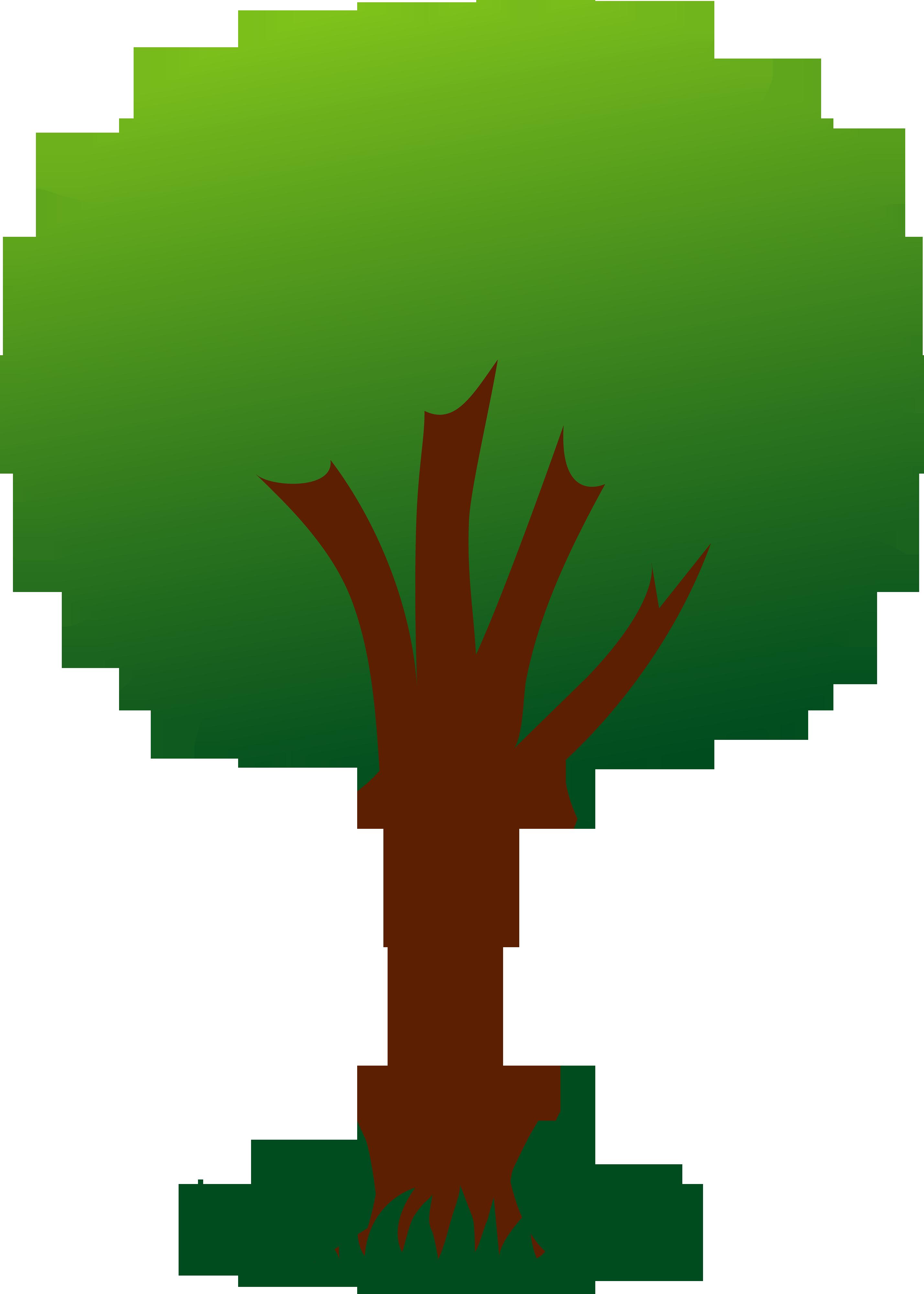 A Cartoon Tree Clipart Best