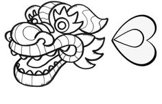 Dragon Head Template - ClipArt Best