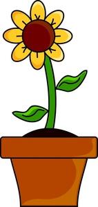 Flower Pot Clipart
