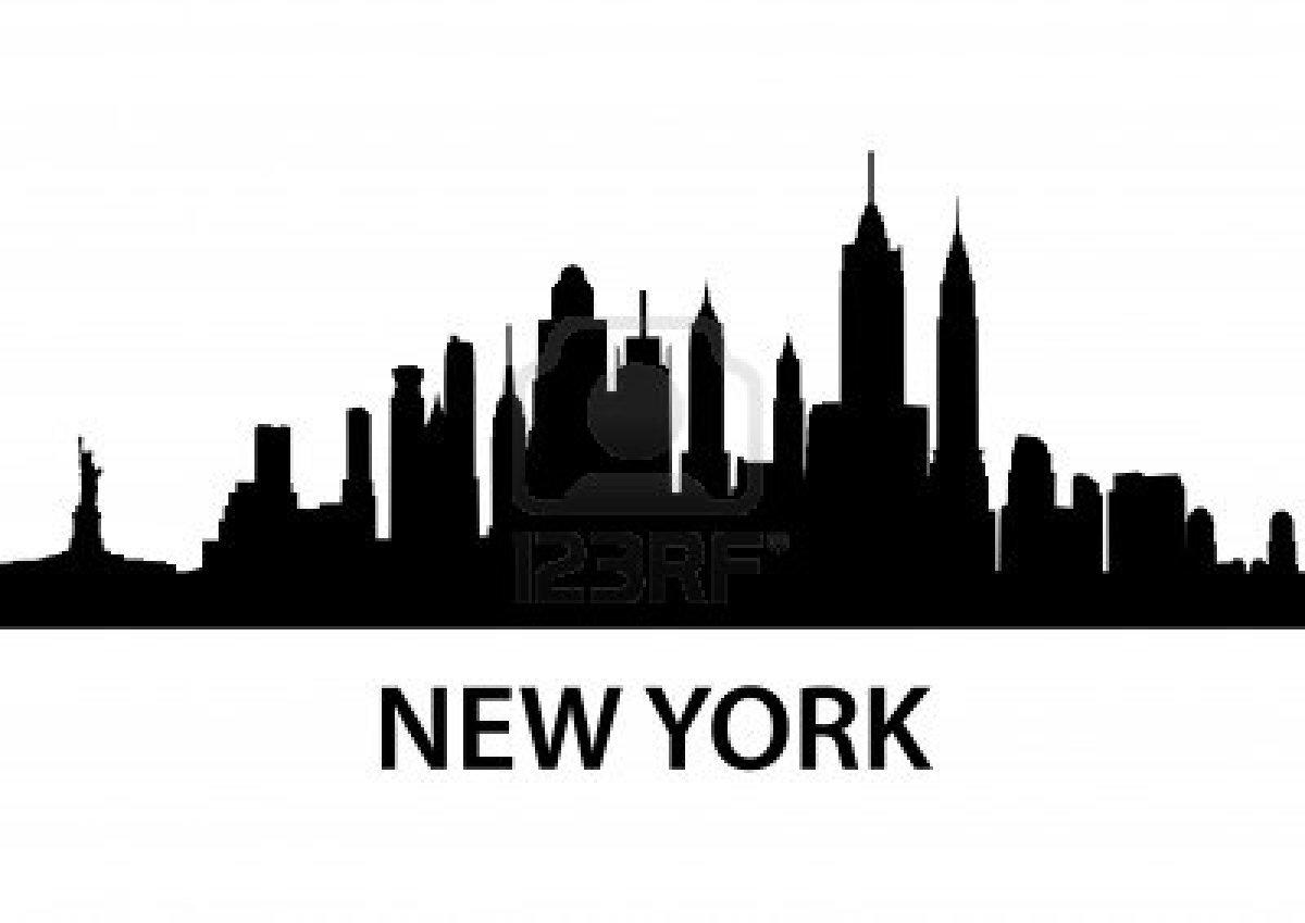 New York City Skyline Silhouette - ClipArt Best