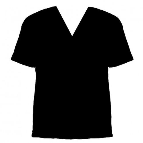 Men black v neck t shirt clipart best for T shirt design v neck