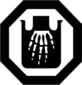 Danger Corrosive Safety Sign - Hazard & Warning Sign from BiGDUG UK