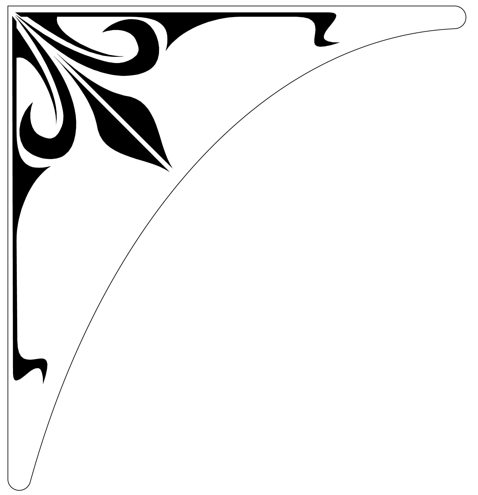 Decorative Corner Designs - ClipArt Best