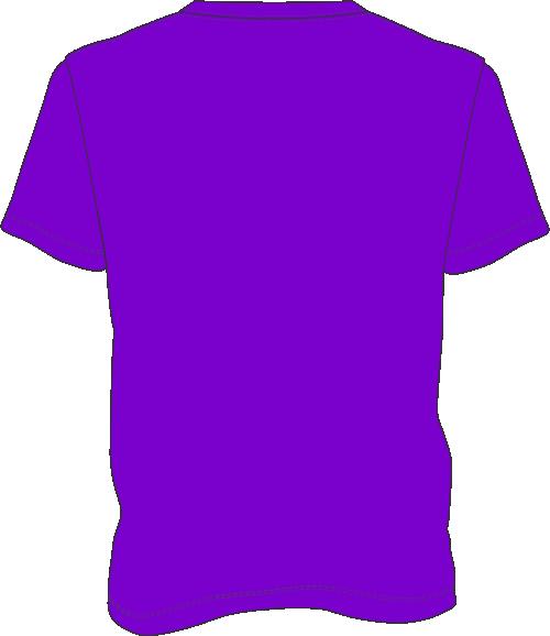 purple t shirt clip art - photo #15