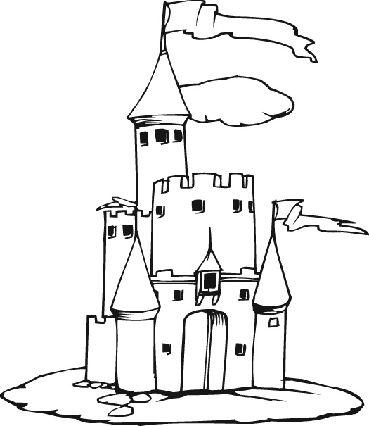 Castle pictures for kids free download clip art free for Dklt coloring pages