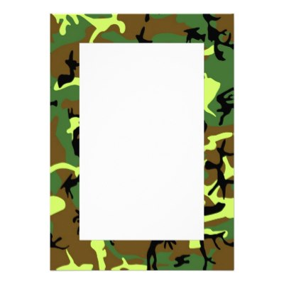Camouflage Border For Word Clipart Best