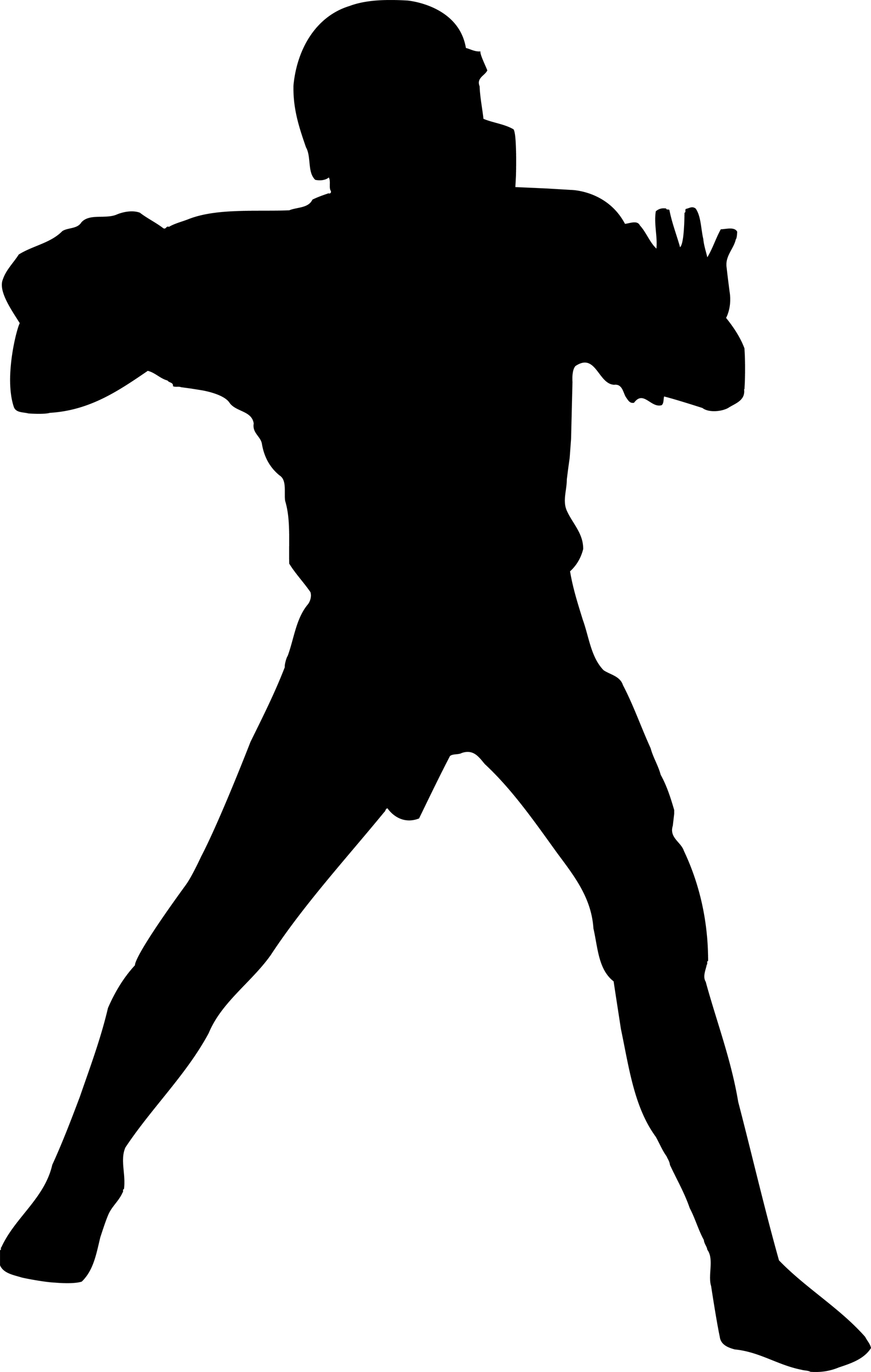 football player silhouette clip art pictures to pin on Lineman Coloring Pages Lineman Stickers Decals