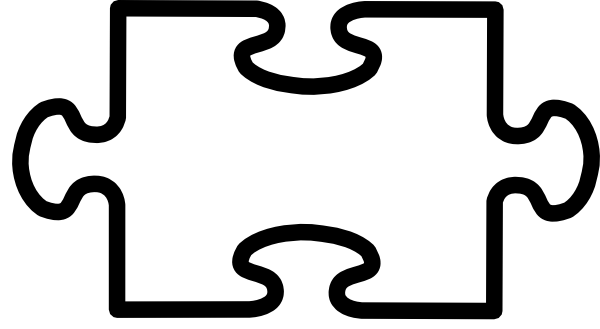 Blank Puzzle Piece Clipart