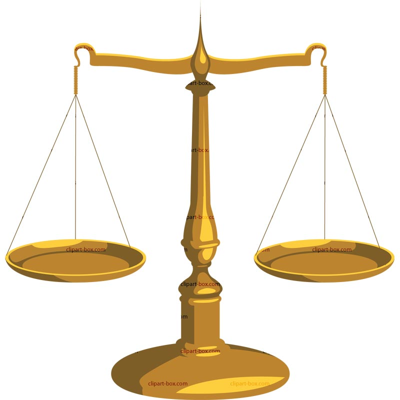 Balance Scale Clipart
