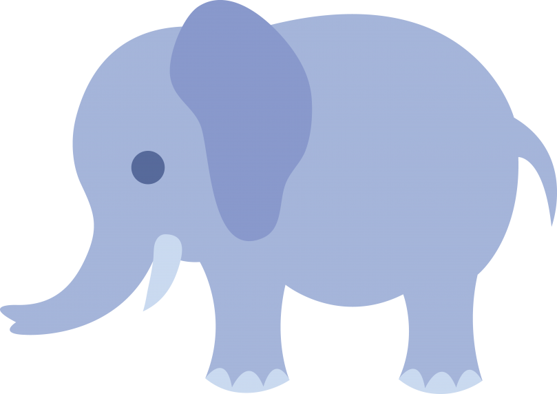 Baby shower elephant clipart boy - ClipartFox