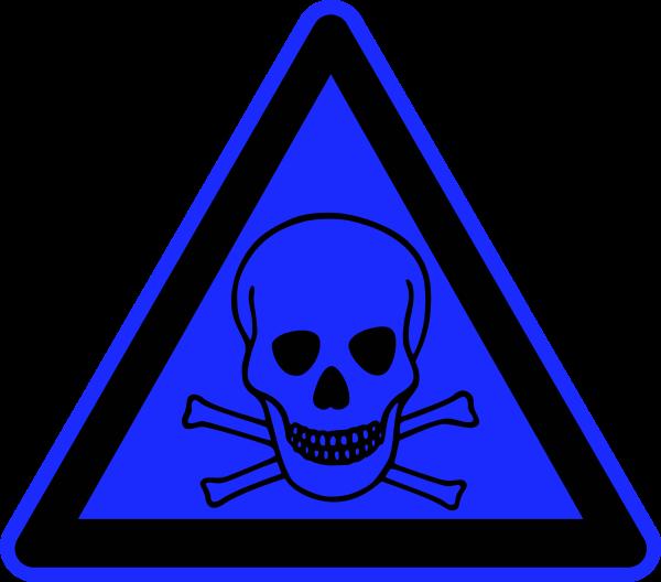skull danger sign clipart best