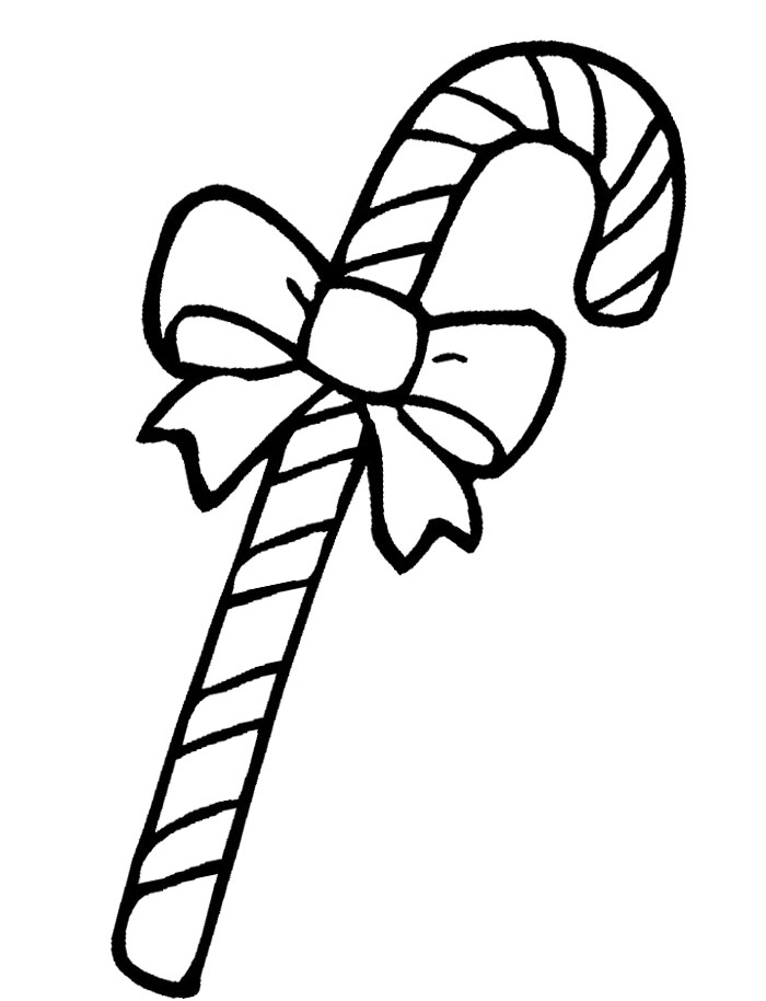 Ribbon Coloring Page 1