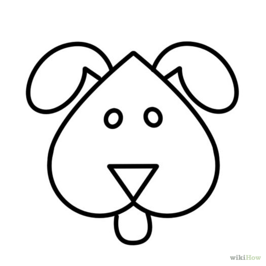 How To Draw A Easy Dog - ClipArt Best
