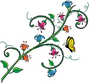 Butterfly And Flower ClipArt Best
