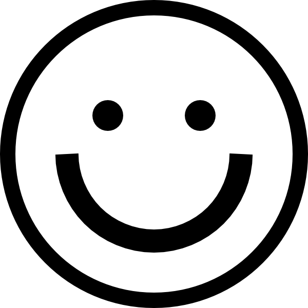 Smiley Face Black And White Clipart Best Clipart Coloring Pages Smiley