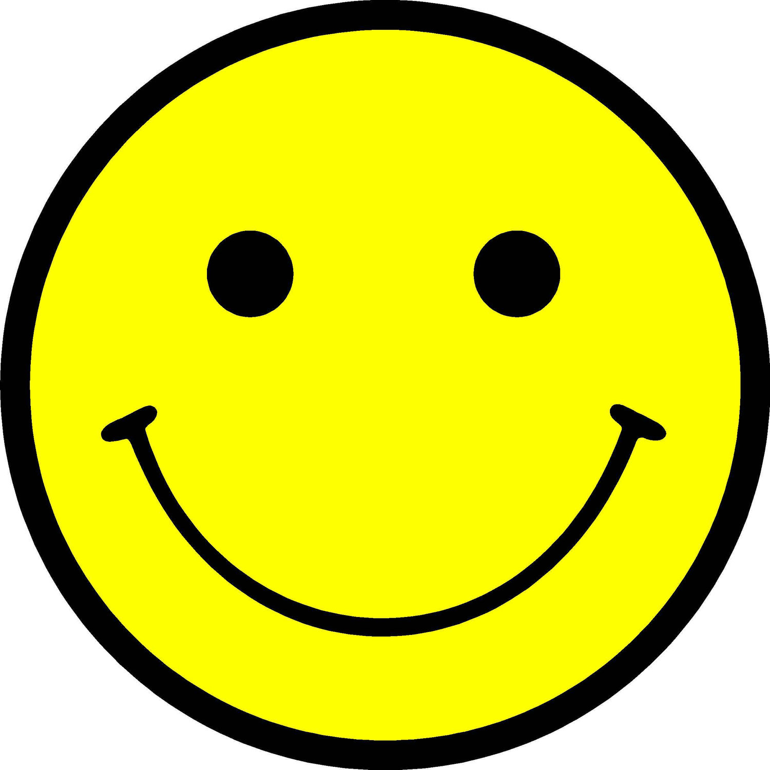Picture Of A Happy Face Clipart Best