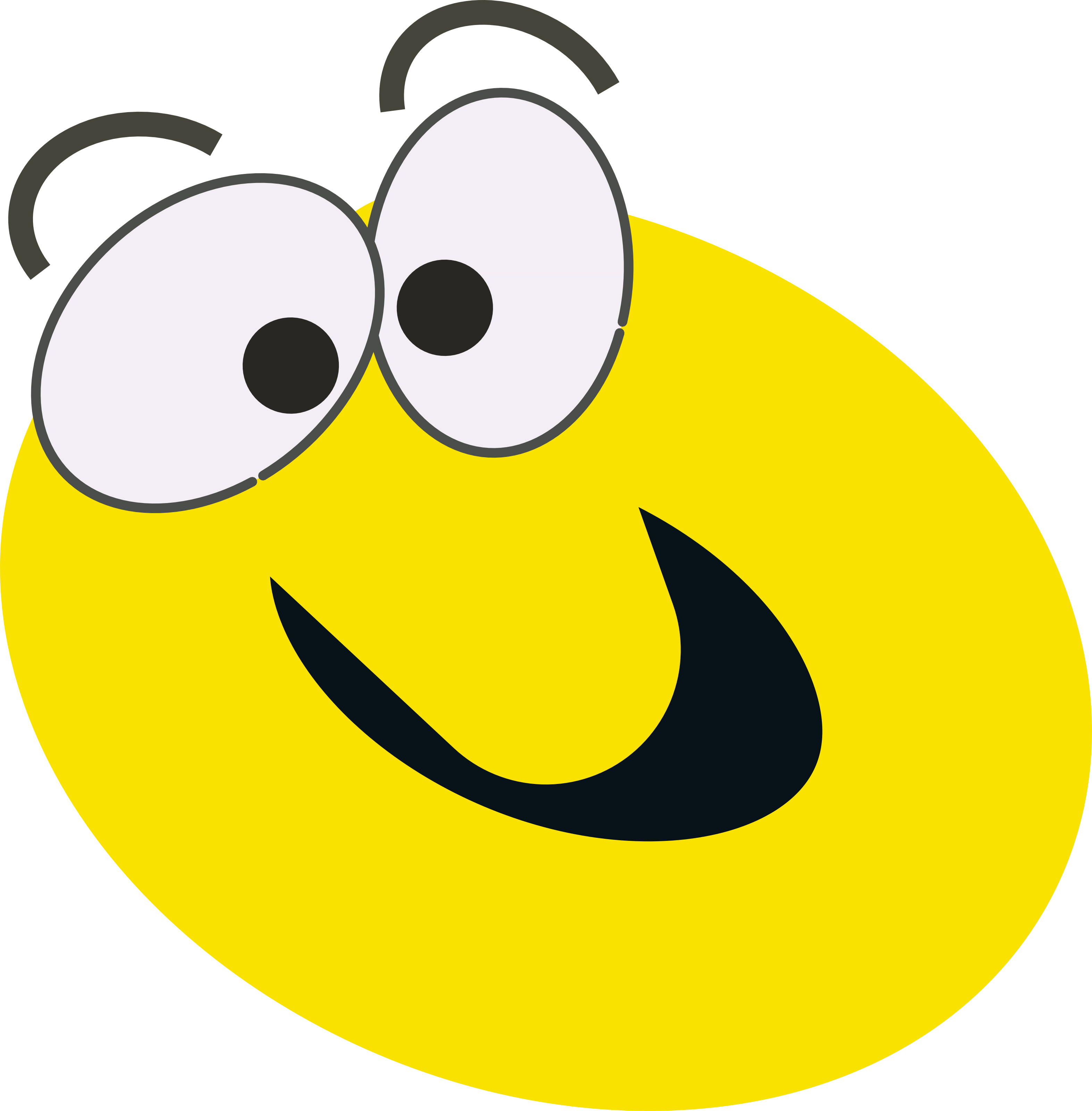 free smiling apple clipart - photo #26