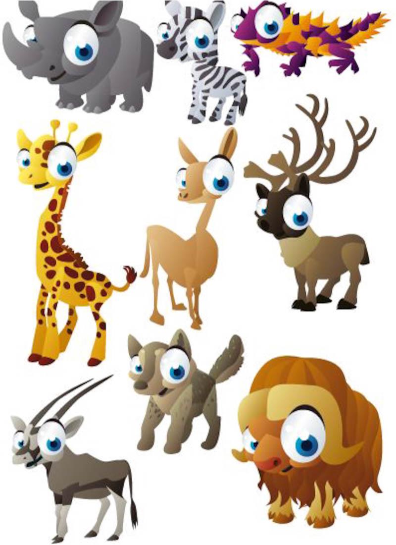 Free Clip Art Cartoon Animals - ClipArt Best