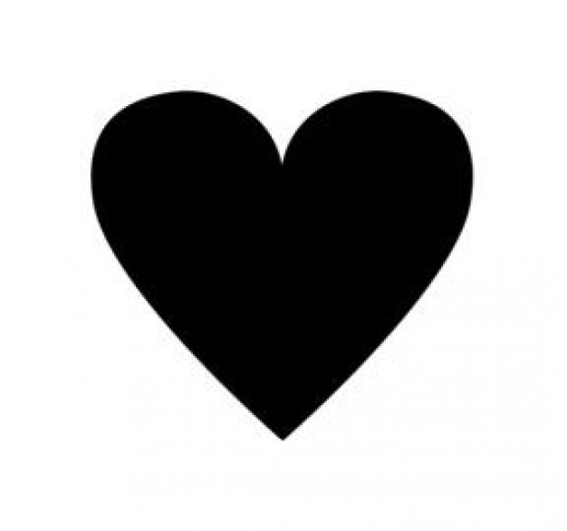 Black small heart - Icon | Download free Icons