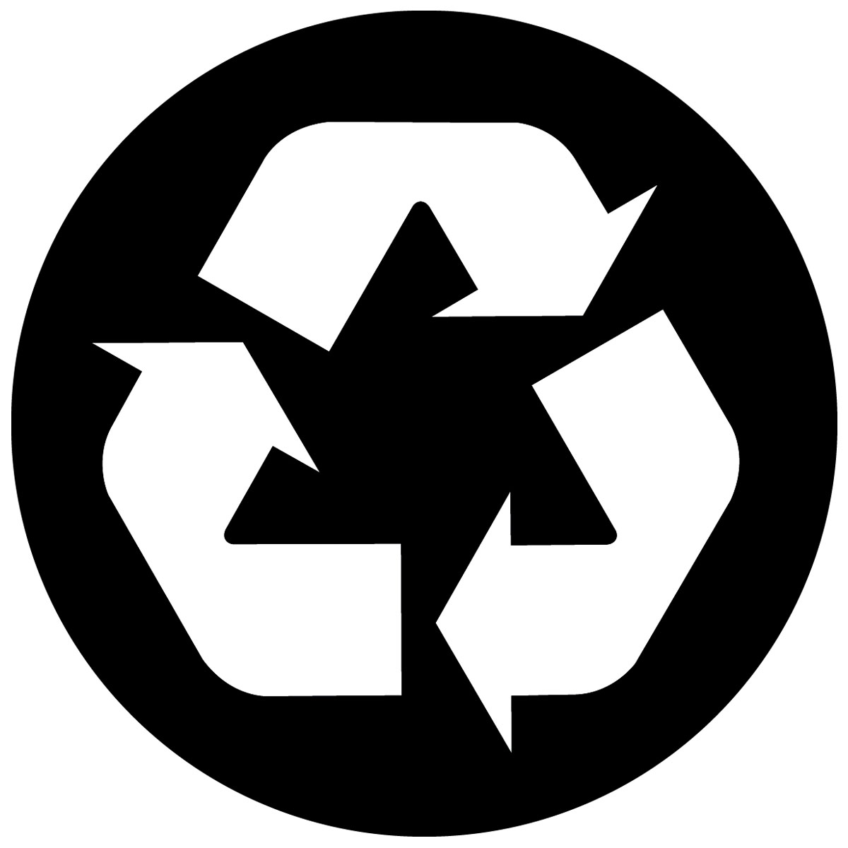 recycle logo vector free clipart best