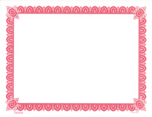 ... pre-printed border certificate paper - ClipArt Best - ClipArt Best