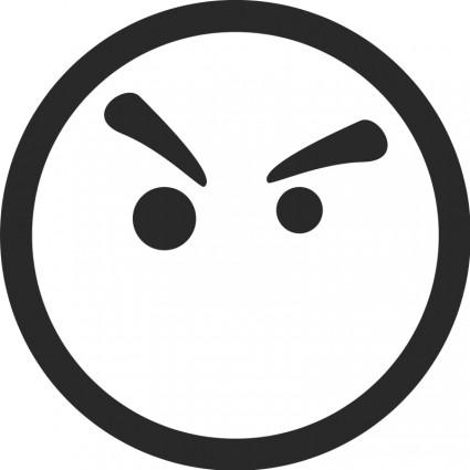 Faces Vector Files Sad Face Symbol Free Vector