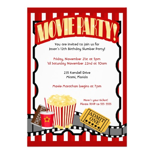 Hollywood Party Invites was best invitations sample