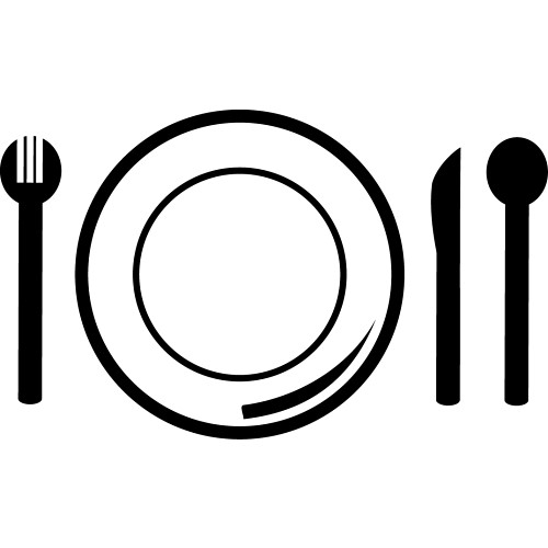 Plate Setting Clipart - ClipArt Best - ClipArt Best