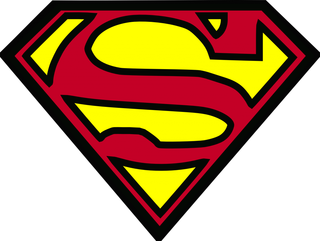 Superman logo logo | HD Background Wallpaper