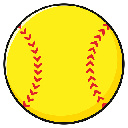 softball cartoon pictures clipart best softball clipart for silhouette softball clipart free download