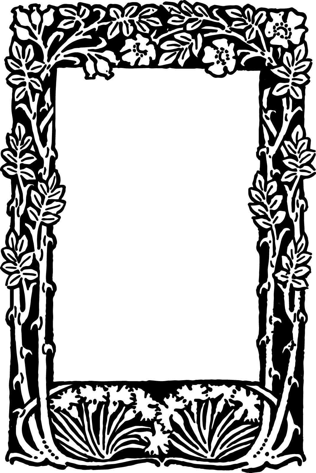 ideal printable picture frames templates