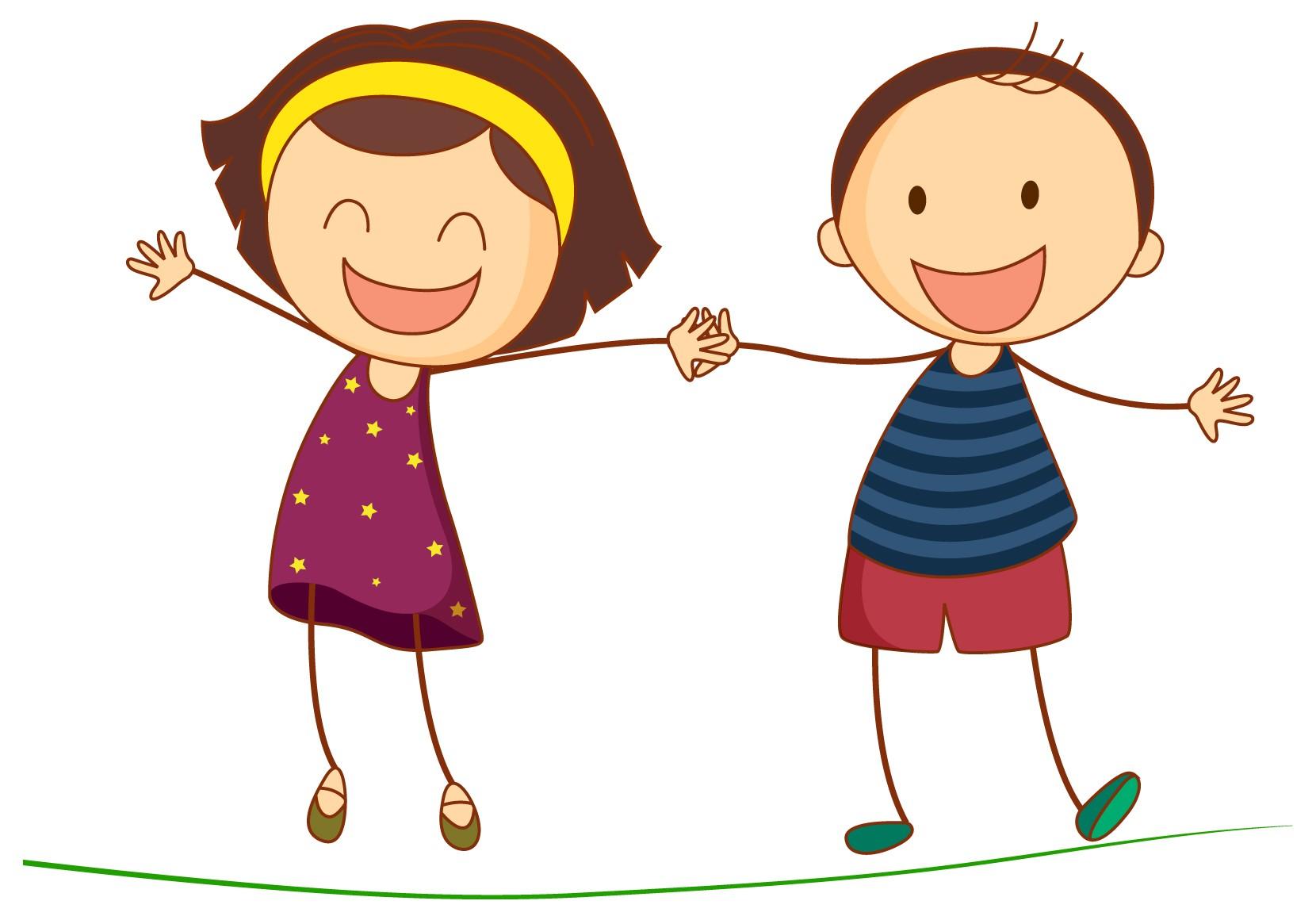 Happy Kids Cartoon - ClipArt Best