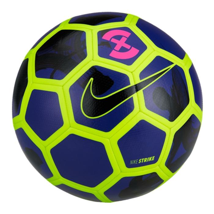 purple nike soccer ball