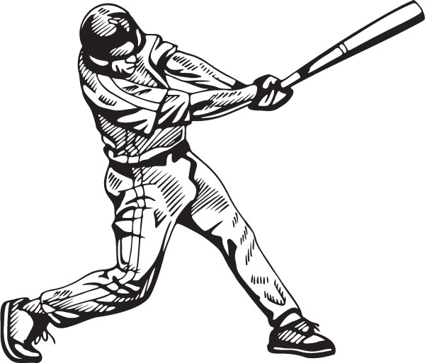baseball batting pictures