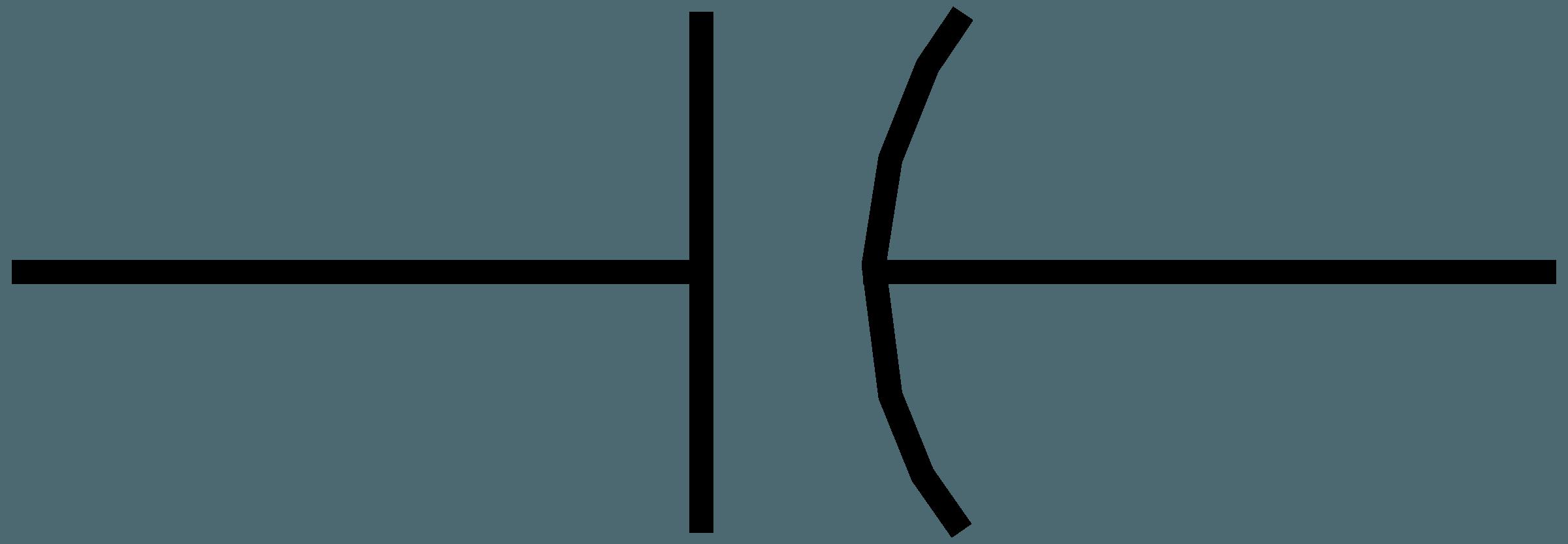 Symbol Of Capacitor Clipart Best