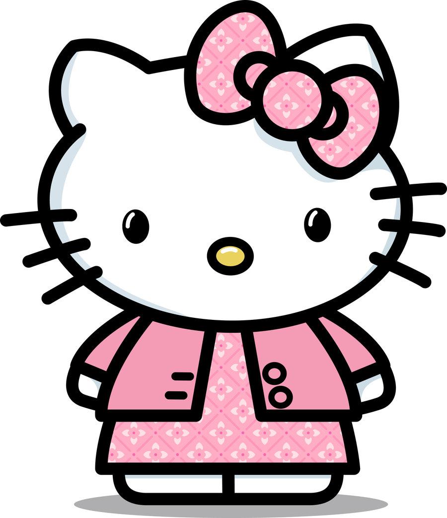 36 Gambar Hello Kitty Animasi