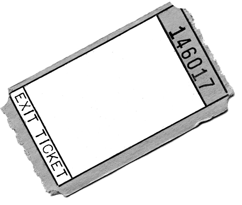 ticket outline template clipart best one way ticket clipart