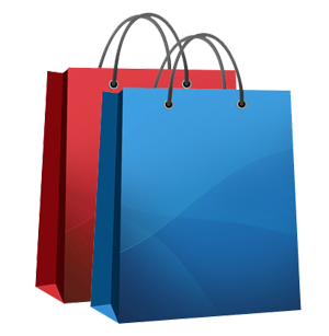 Shopping Bags With The Word Sale Royalty Free Stock Photos - Image