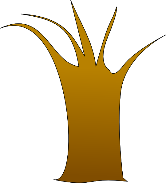 Tree Trunk Clip Art at Clker.com - vector clip art online, royalty ...