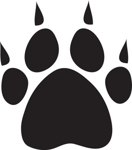Dog Paw Print Logo - ClipArt Best