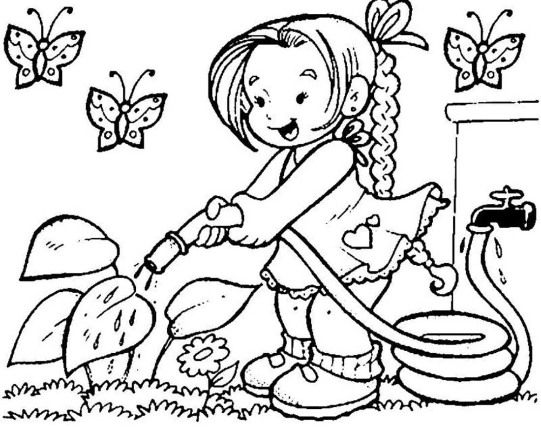 Spring Drawing - ClipArt Best