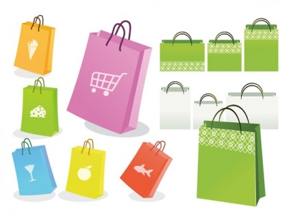 Paper Shopping Bag Free Vector